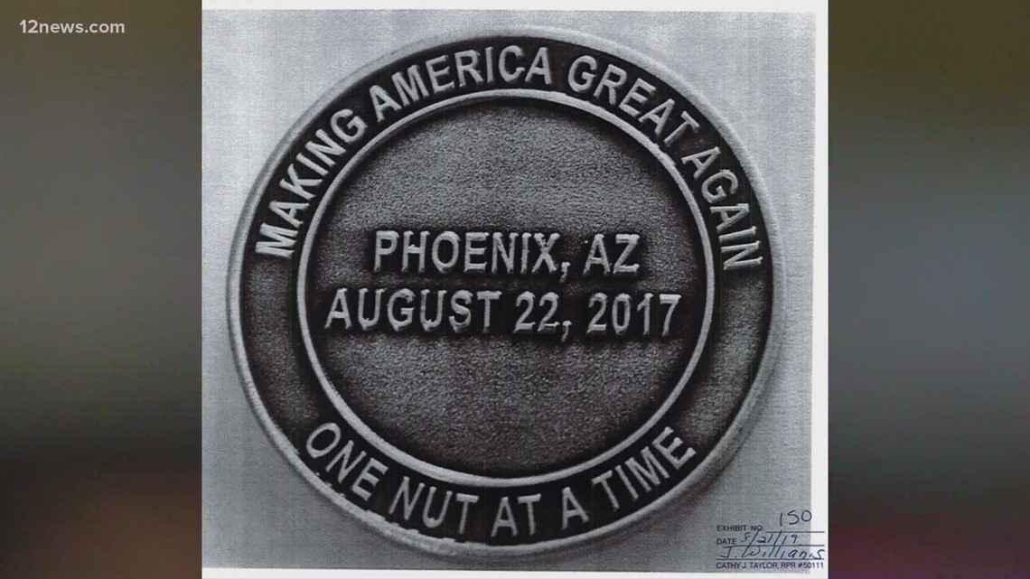 Phoenix Police challenge coin.