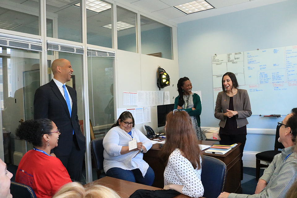 U.S. Senator Cory Booker Meets Members of the ACLU of Arizona