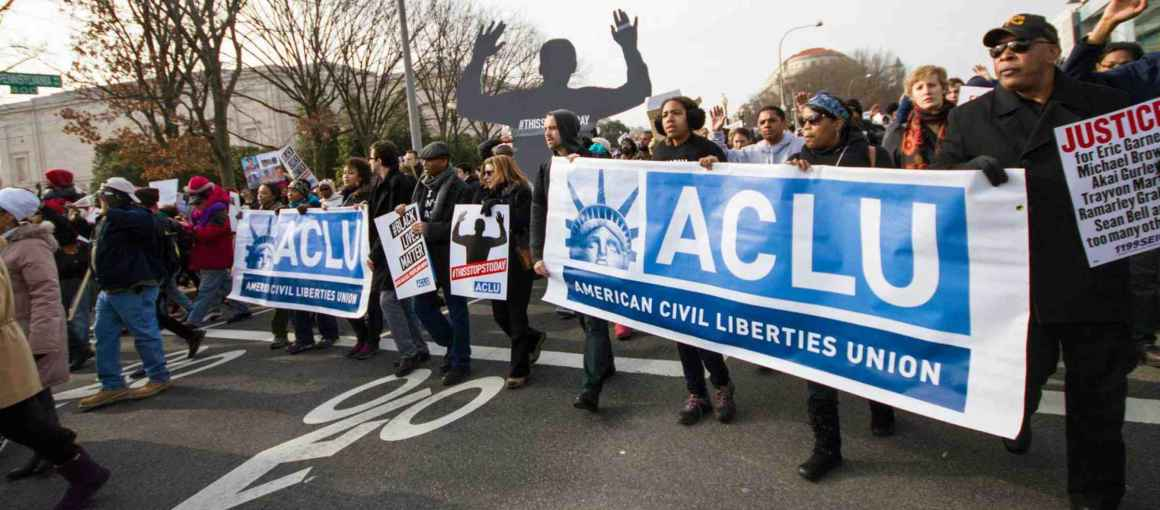 aclu protest