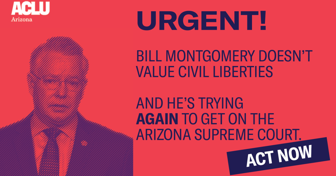 Bill Montgomery does not belong on the Arizona Supreme Court
