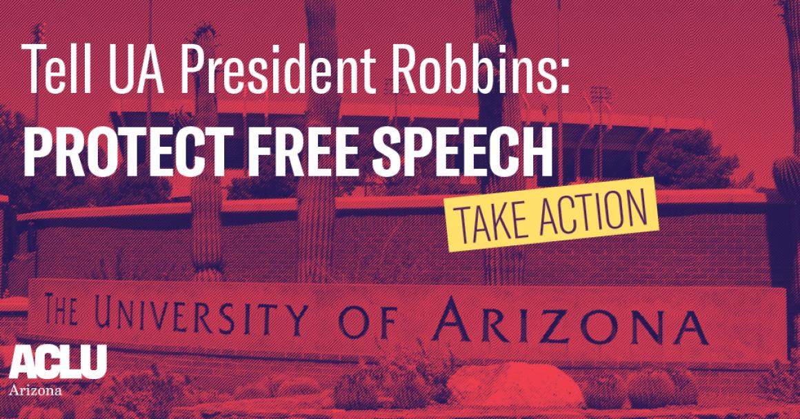 university of arizona protestors